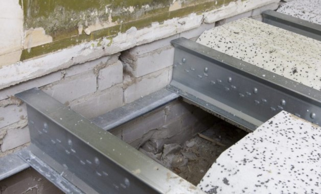 batangan rangka besi baja